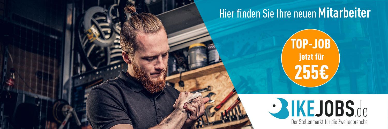 Bikejobs.de Top-Job Neue Mitarbeiter