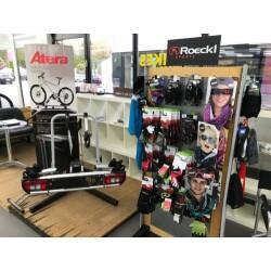 Fahrrad- u. Autoshop Kälker Innenansicht 3
